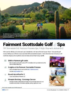 thumbnail of Fairmont Scottsdale Golf and Spa