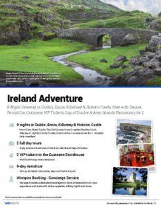 thumbnail of Ireland Adventure