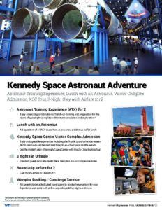 thumbnail of Kennedy Space Center Astronaut Adventure