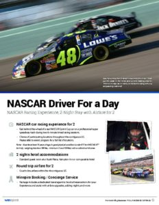 thumbnail of NASCAR Driver For a Day