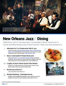 thumbnail of New Orleans Jazz Dining