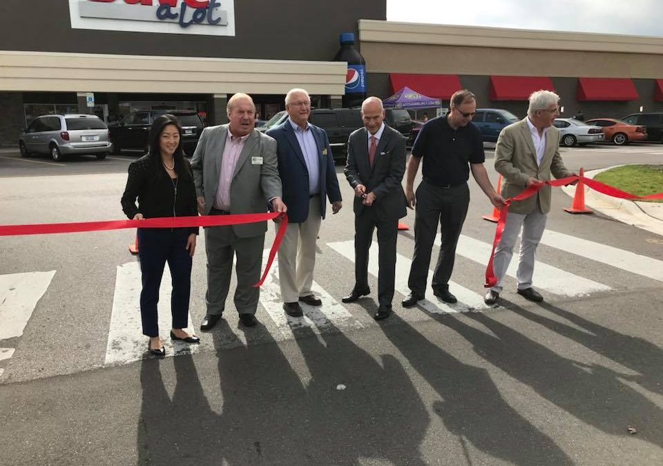 28th Place West – Ribbon Cutting