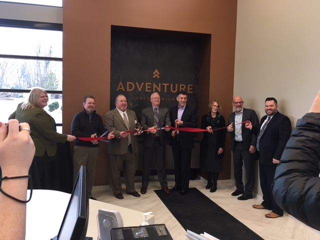 Adventure CU Ribbon Cutting