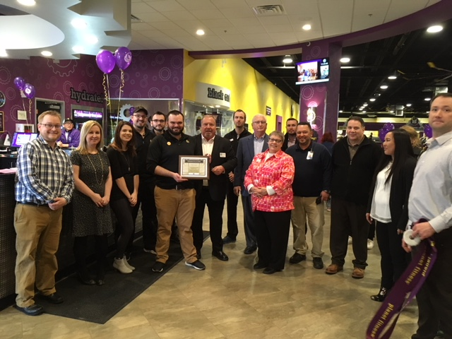 Planet Fitness Ribbon Cutting