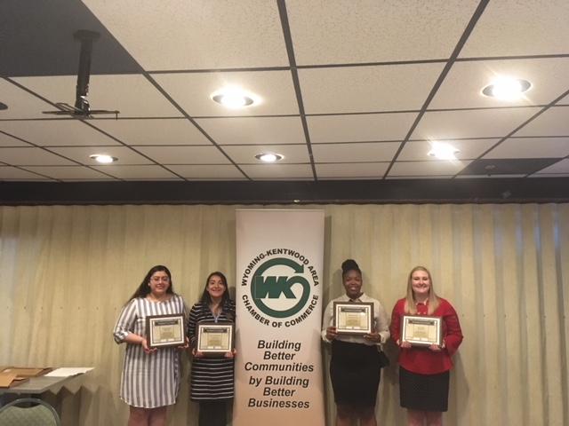 2018 Brent VanderKolk Scholarship Winners