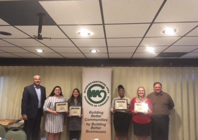 2018 Brent VanderKolk Scholarship Winners and School Superintendents