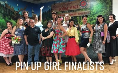 2018 Pin Up Girl Preliminary Contest