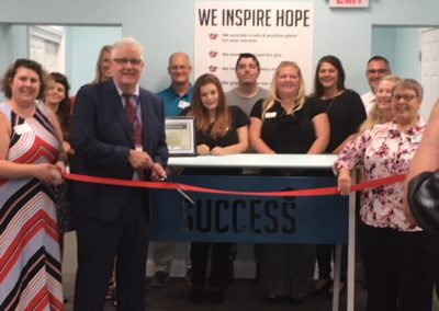 Success Ribbon Cutting