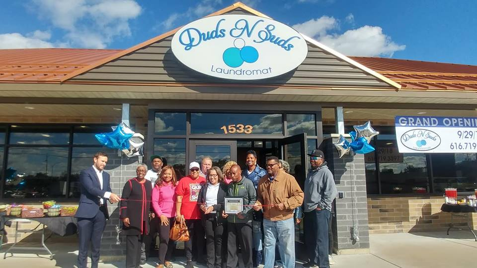 Duds N Suds Ribbon Cutting & Open House