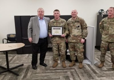 Army Recuiting Ribbon Cutting