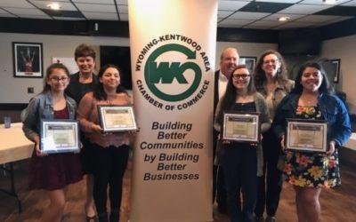 Wyoming Kentwood Chamber Foundation Scholarship Winners
