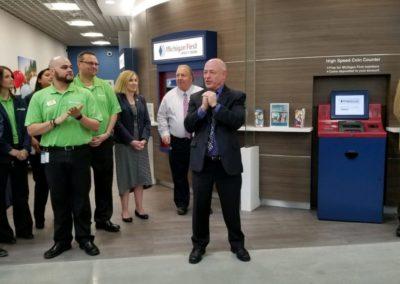 Michigan First CU Ribbon Cutting 3