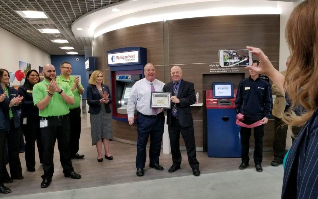 Michigan First Credit Union Ribbon Cutting