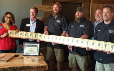 Wise Men Distillery Ribbon Cutting