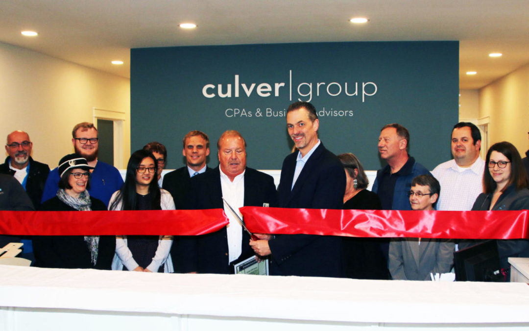 Culver CPA Group Ribbon Cutting & Open House