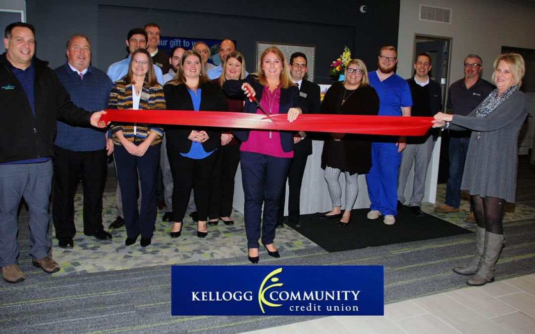 Kellogg Community Credit Union Ribbon Cutting