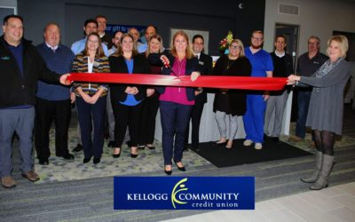 Kellogg Community Credit Union Ribbon Cutting