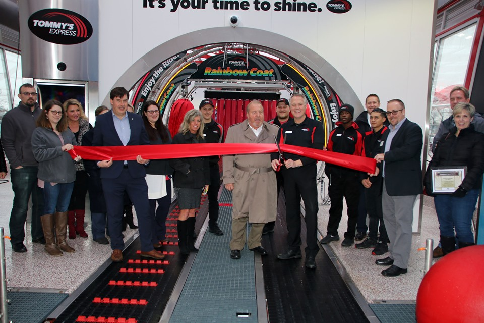 Tommy's Express Car Wash Grand Opening & Ribbon Cutting
