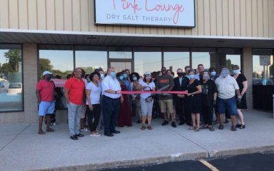 Pink Lounge Ribbon Cutting & Grand Opening