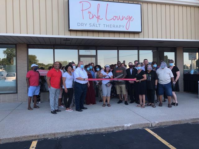 Pink Lounge Ribbon Cutting & Grand Opening