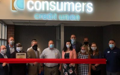 Consumers Credit Union Ribbon Cutting & Grand Opening