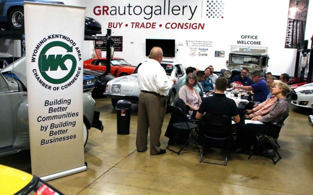 New Member Breakfast at GR Auto Gallery